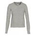 Schott Women's Waffle Henley Sweater