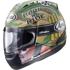 Arai Corsair-V Nicky Hayden GP Replica Camo Helmet