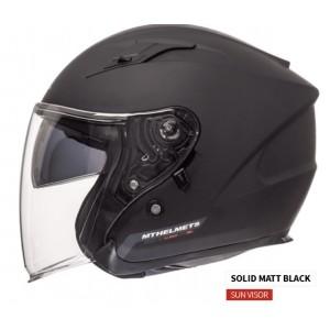 MT Avenue SV Open Face Helmet with Sun Shield
