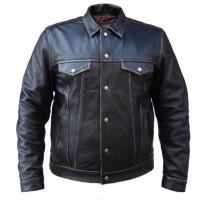 Unik Leather Jean Style Jacket