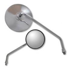 Ken Sean Round Stainless Mirrors
